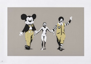 Banksy Napalm signed ed 350 727gallery.com