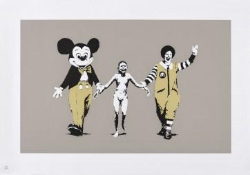 Banksy Napalm signed ed 350 727gallery.com