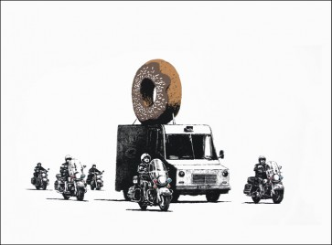Banksy Donuts Chocolate