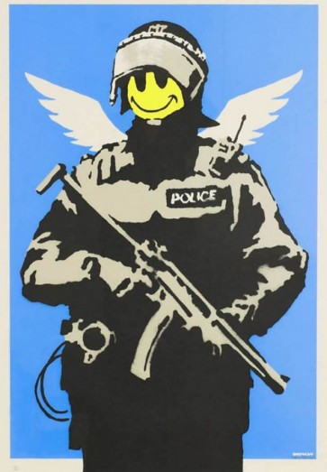 Banksy-Flaying-copper-727gallery.com