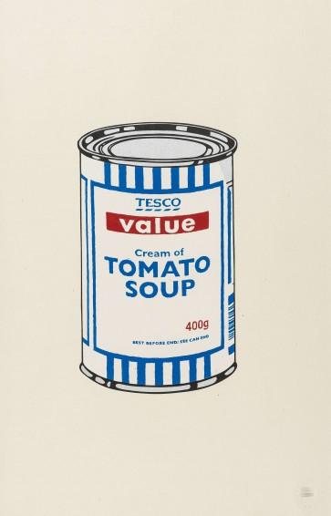 Banksy Soup Can Original 727gallery.com