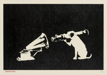Banksy HMV Unsigned