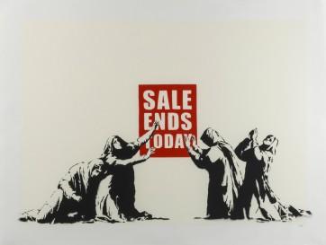 Banksy LA Sale end Unsigned