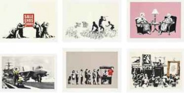 Banksy LA Sale end Unsigned