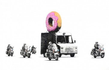Banksy Donuts - Strawberry