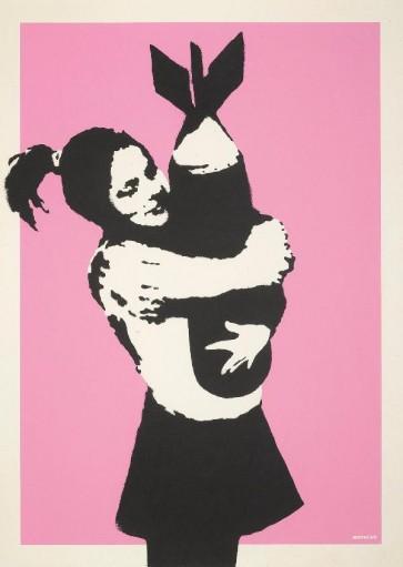 Banksy-Bomb Hugger ( Bomb Lover)