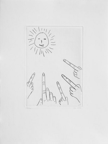 David Shrigley Original  Sun (4)