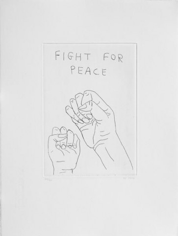 David-Shrigley-fight-for peace (5)
