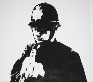 Banksy   Rude Copper