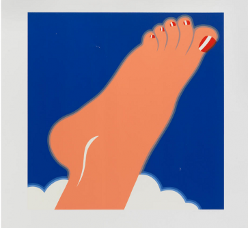 Tom Wesselmann (American, Seascape (Foot), from Edition 68 Portfolio