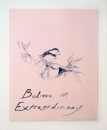 Tracey Emin Believe In Extraordinar