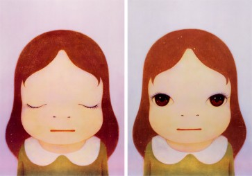 YOSHITOMO NARA Cosmic Girl, 2008 Offset Lithograph