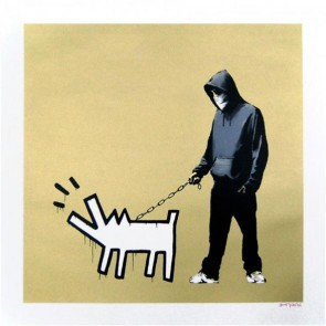Banksy - Choose Your Weapon (Gold)