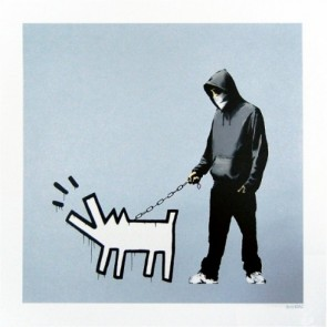 Banksy - Choose Your Weapon (Silver)