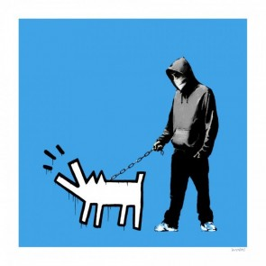 Banksy - Choose Your Weapon (Blue)
