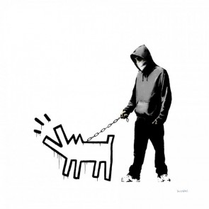 Banksy - Choose Your Weapon (White)