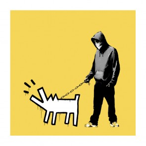 Banksy - Choose Your Weapon (Light Yellow)