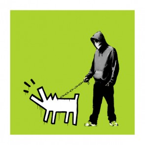 Banksy - Choose Your Weapon (Lime)