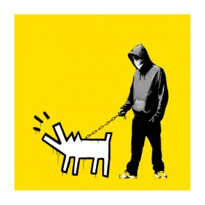 Banksy - Choose Your Weapon (Yellow)