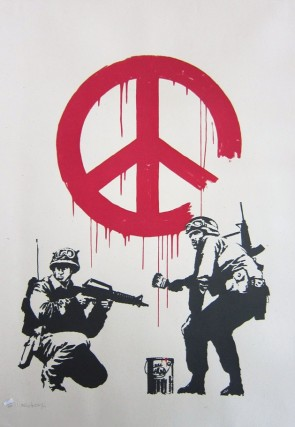 Banksy CND Soldiers (signed)