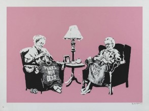 Banksy Editions Grannies (Unsigned)