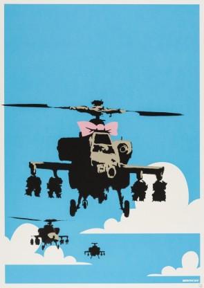 Banksy Happy Chopper (Unsigned)