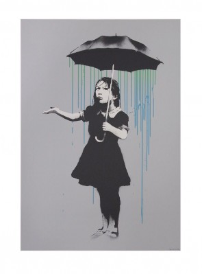Banksy Nola AP Green to Blue Ed 61