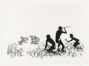 Banksy-trolleys-727gallery.com