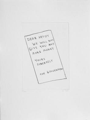 David Shrigley Original  Dear Artist (3)