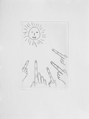 David Shrigley Original  Sun (4)