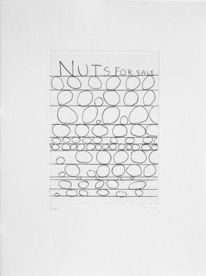 David Shrigley Original  Nuts for sale (2)
