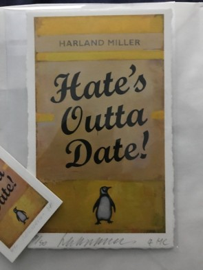 Harland Miller - Hate's Outta Date