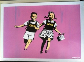 Jack and Jill (Police Kids)  AP pink edition