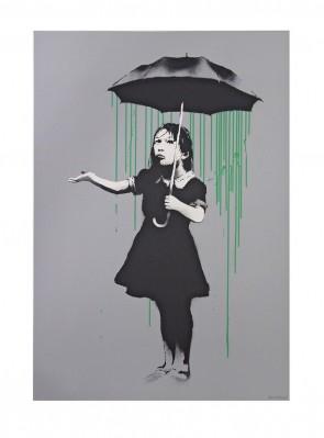 Banksy Nola AP Green Ed 61