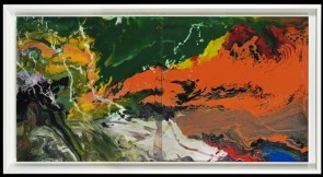 Gerhard Richter P16 (Flow