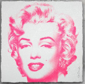 MR. BRAINWASH Diamond Girl (Pink)