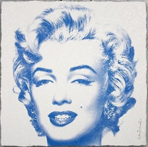 MR. BRAINWASH Diamond Girl (Blue)