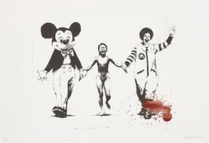Banksy Napalm PP hand finish