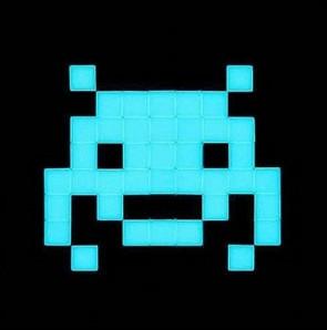Space Invader – Invasion Kit # 15 Glow in the dark