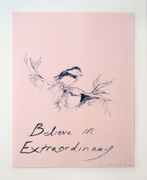 Tracey Emin Believe In Extraordinar