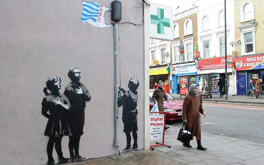 Banksy-Very-Little-Help