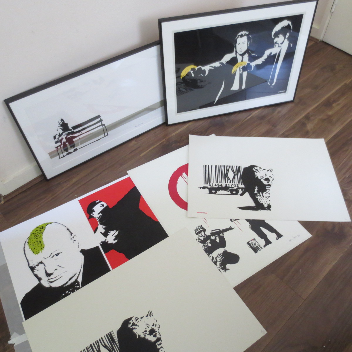 Banksy prints for sale and buy
